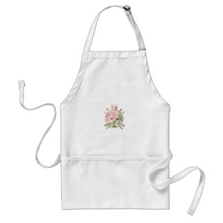 Sweet Little Thing - Floral Design Adult Apron