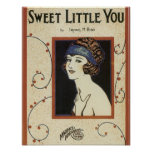 Sweet Little You Songbook Cover Poster