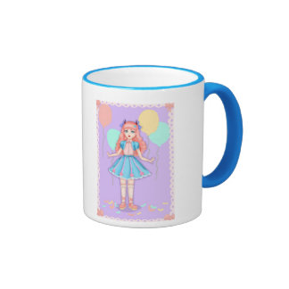 Sweet lolita party ringer coffee mug