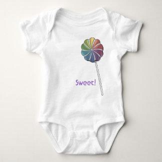 Sweet Lollipop Candy Baby Bodysuit