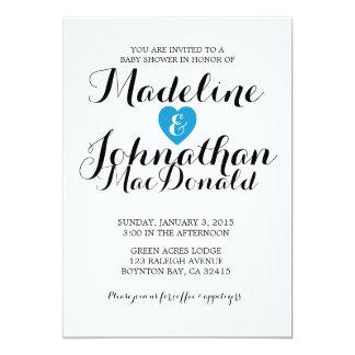 sweet love BABY SHOWER invitation gender neutral 1
