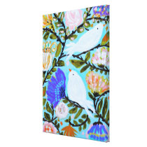 Sweet Love Birds II Canvas Print