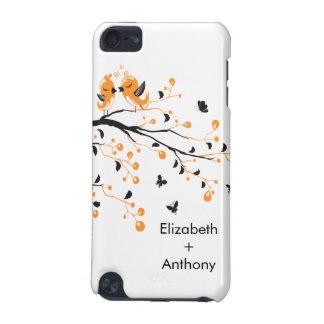 Sweet Love Birds IPod Touch Case Orange