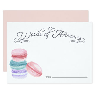 Sweet Love | Bridal Shower Advice Cards