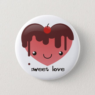 Sweet Love Buttom Button