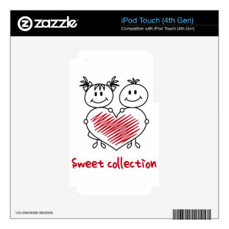 sweet love collection skin for iPod touch 4G