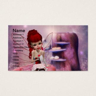 Sweet Love Fairy Business Card Template