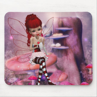 Sweet Love Fairy Mousepad