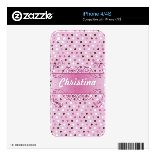 Sweet Love IPhone Skin Skin For iPhone 4S