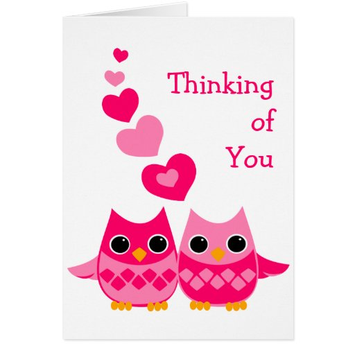 Sweet Love Owls Greeting Cards