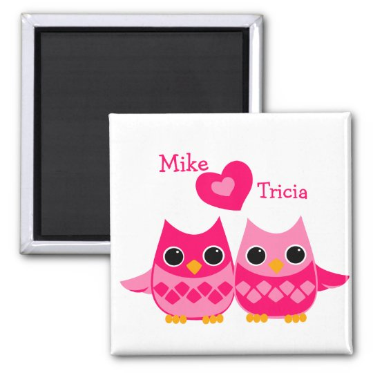 Sweet Love Owls Magnet