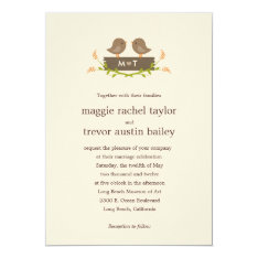 Sweet Love Wedding Invitation at Zazzle