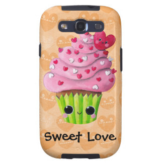 Sweet lovely cupcake samsung galaxy SIII cases