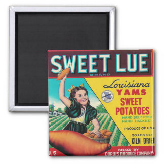 sweet lue yams magnets