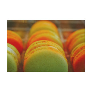 Sweet Macarons Canvas Print