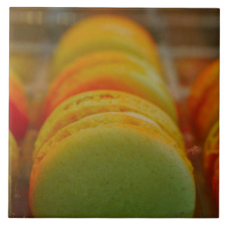 Sweet Macarons Ceramic Tile