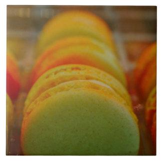 Sweet Macarons Ceramic Tile