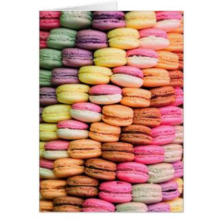 Sweet Macarons Happy Birthday Greeting Card