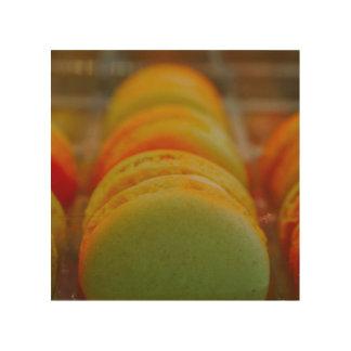 Sweet Macarons Wood Print