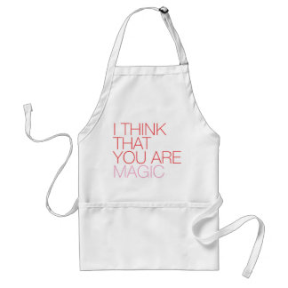 Sweet magic lovers note apron