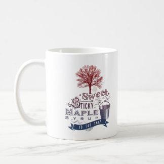 Sweet Maple Tree Syrup Camp Vintage Mug