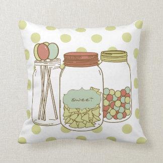 Sweet mason jars pillow