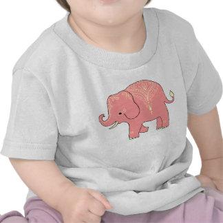 Sweet Mehndi Elephant infant baby t-shirt