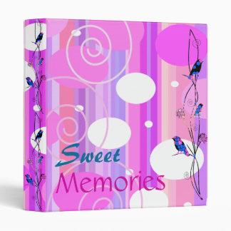 Sweet Memories 3 Ring Binder