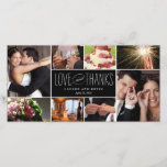 """Sweet Memories Wedding Thank You Photo Cards<br><div class=""""desc"""">Share your wedding photos as you send your thank you note with these modern and elegant photo cards that your friends and family will surely adore! Also available in other colors. You can also change the color yourself by clicking the &quot;Customize It&quot; button &gt;&gt; &quot;Edit&quot; &gt;&gt; &quot;Background Color&quot;, and then...</div>"""