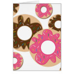 Sweet mix of Donuts Greeting Card