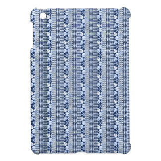 Sweet mixed borders, blue cover for the iPad mini