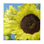 Sweet Mom tile art Sunflowers Tile gifts