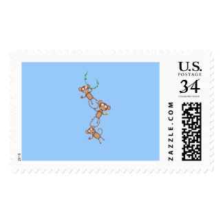 sweet monkey chain postage
