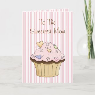 Sweet Mother's Day Greeting Card zazzle_card