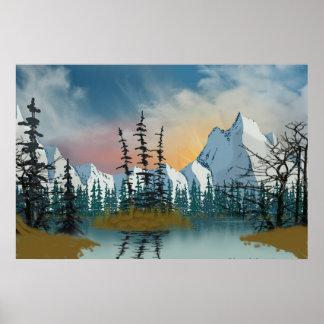 Sweet Mountain Sunrise Poster