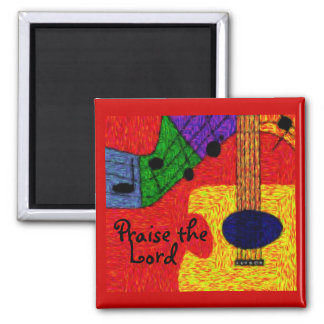 SWEET MUSIC 2 INCH SQUARE MAGNET