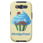 Sweet Mustached Cupcake Galaxy SIII Cover