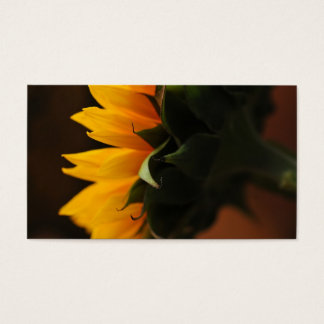 Sweet note (sunflower) business card