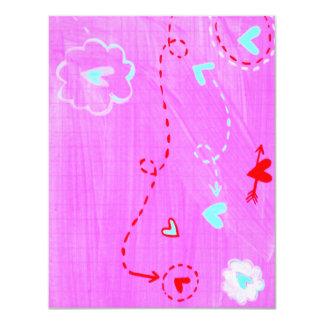 sweet notecard 4.25x5.5 paper invitation card