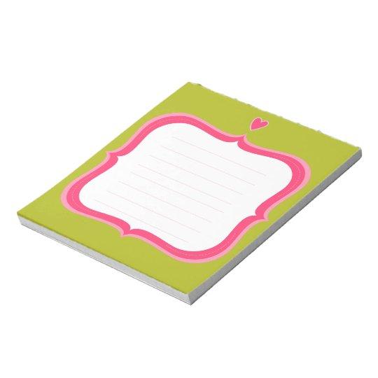 Sweet Notepad