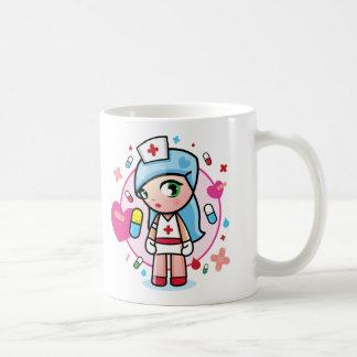 sweet nurse classic white coffee mug
