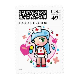 sweet nurse stamp