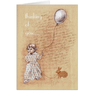 Sweet Old Memory Custom Thinking of You Card