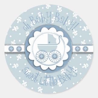 Sweet One Boy Sticker