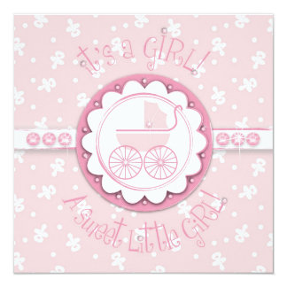 Sweet One Girl Card Square