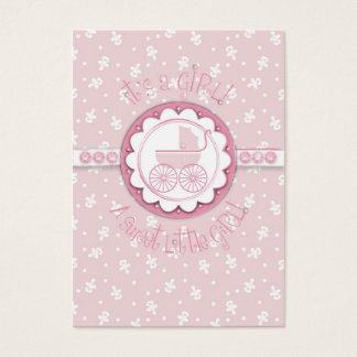 Sweet One Girl Gift Tag