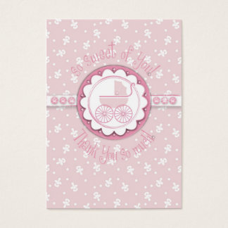 Sweet One Girl TY Gift Tag