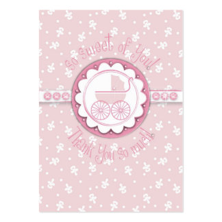 Sweet One Girl TY Gift Tag Large Business Card
