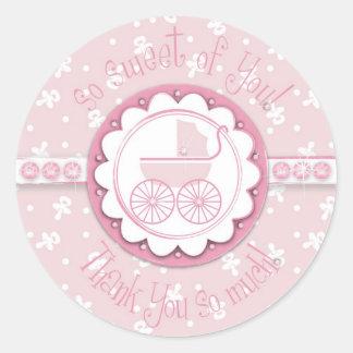 Sweet One Girl TY Sticker