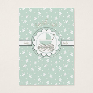 Sweet One Reminder Notecard Business Card